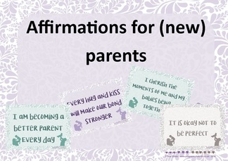 affirmations for new parents