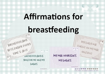 Affirmations for breastfeeding