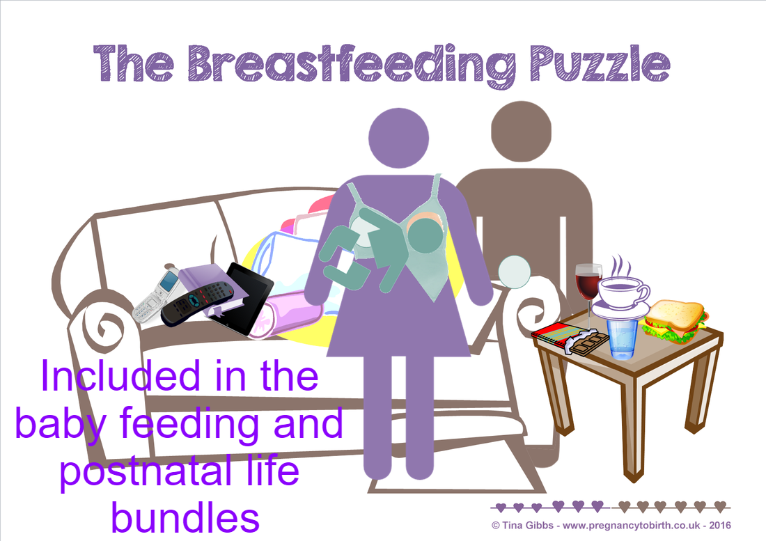 breastfeeding education activity - the breastfeeding puzzle